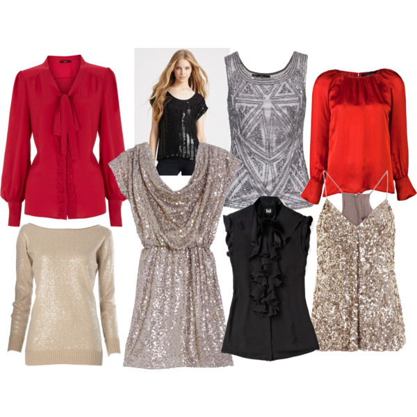 Blouses And Tops For Christmas 50