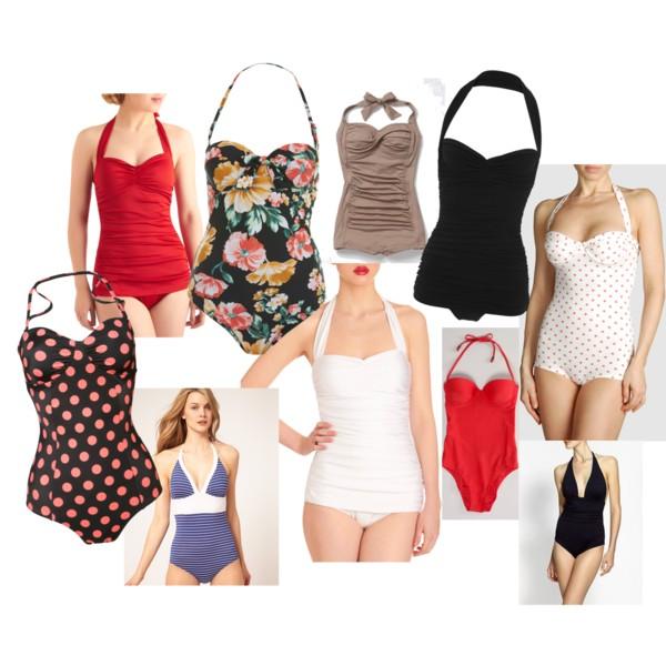 Summer 2012 MustHave Vintage Bathing Suit Good Girls Inc
