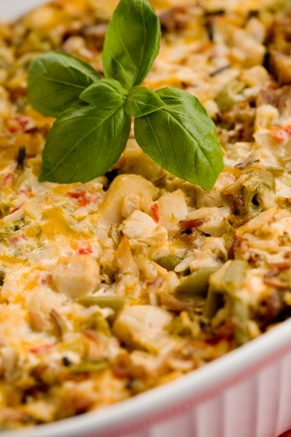 Paula Deen's Chicken & Rice Casserole