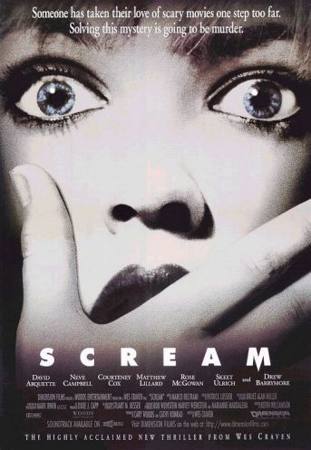 Scream movie poster